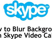 How to Blur Background on Skype Video Calls