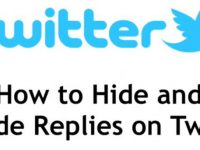 How to Hide and Unhide Replies on Twitter
