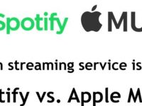 Spotify vs apple music